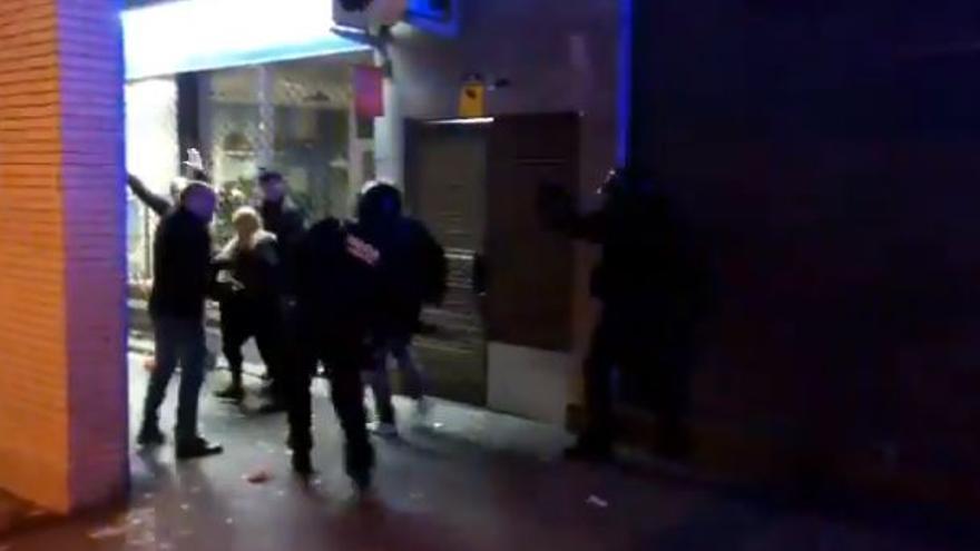 Manifestación en Terrassa