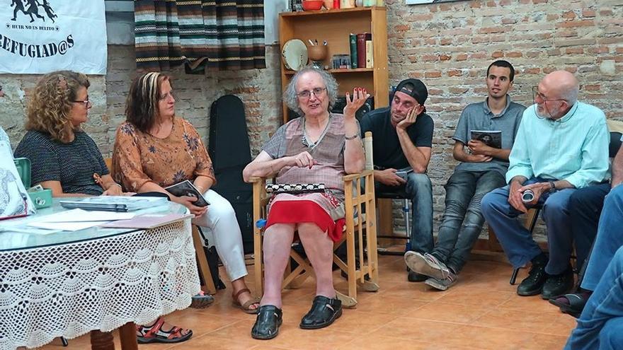 """La activista transexual Kim Pérez inicia una huelga de hambre por el """"retroceso"""" con el futuro Gobierno andaluz"""