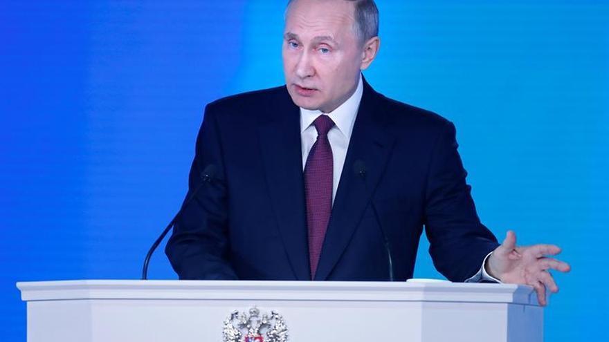 Putin presenta armamento nuclear que hace inútil el escudo antimisiles de EEUU