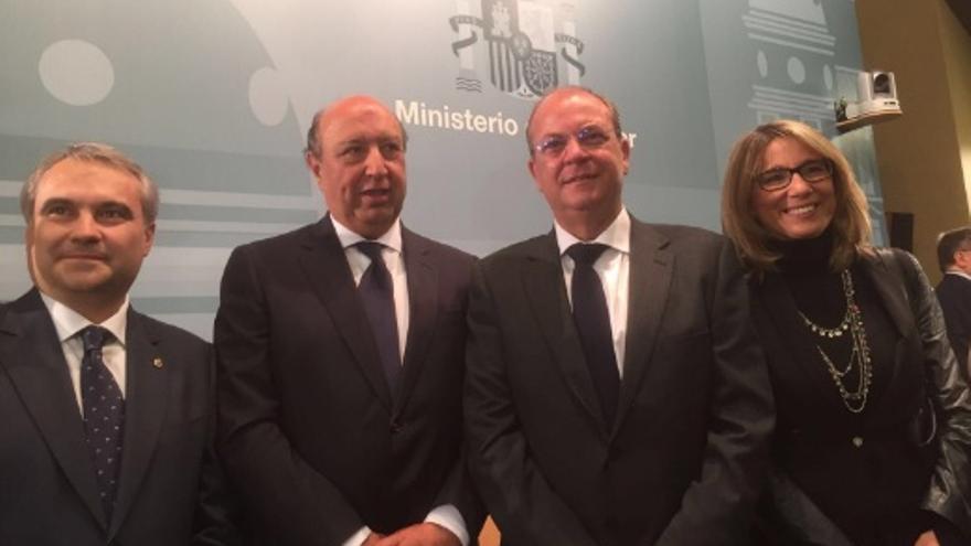 El PP extremeño acompaña a Germán López Iglesias en su nombramiento / ppextremadura