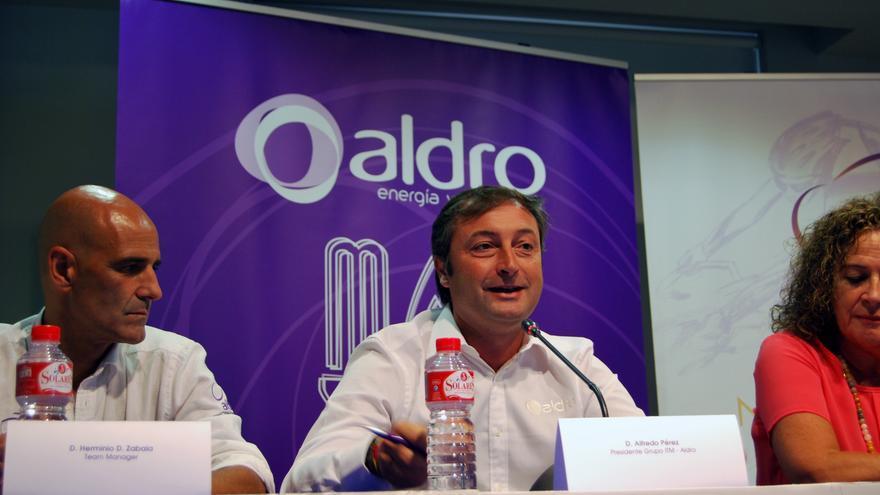 El presidente del Grupo ITM, Alfredo Pérez, en el centro de la imagen.
