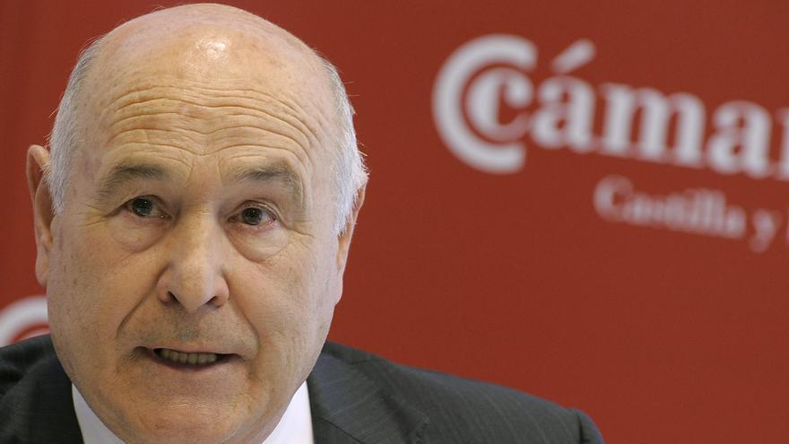 Vicente Villagrá, presidente de Facundo Blanco SA y de la Cámara de Comercio de Palencia, en abril de 2011. EFE