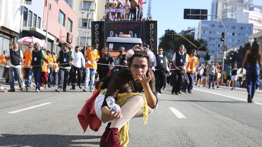 Marcha del Orgullo en São Paulo.