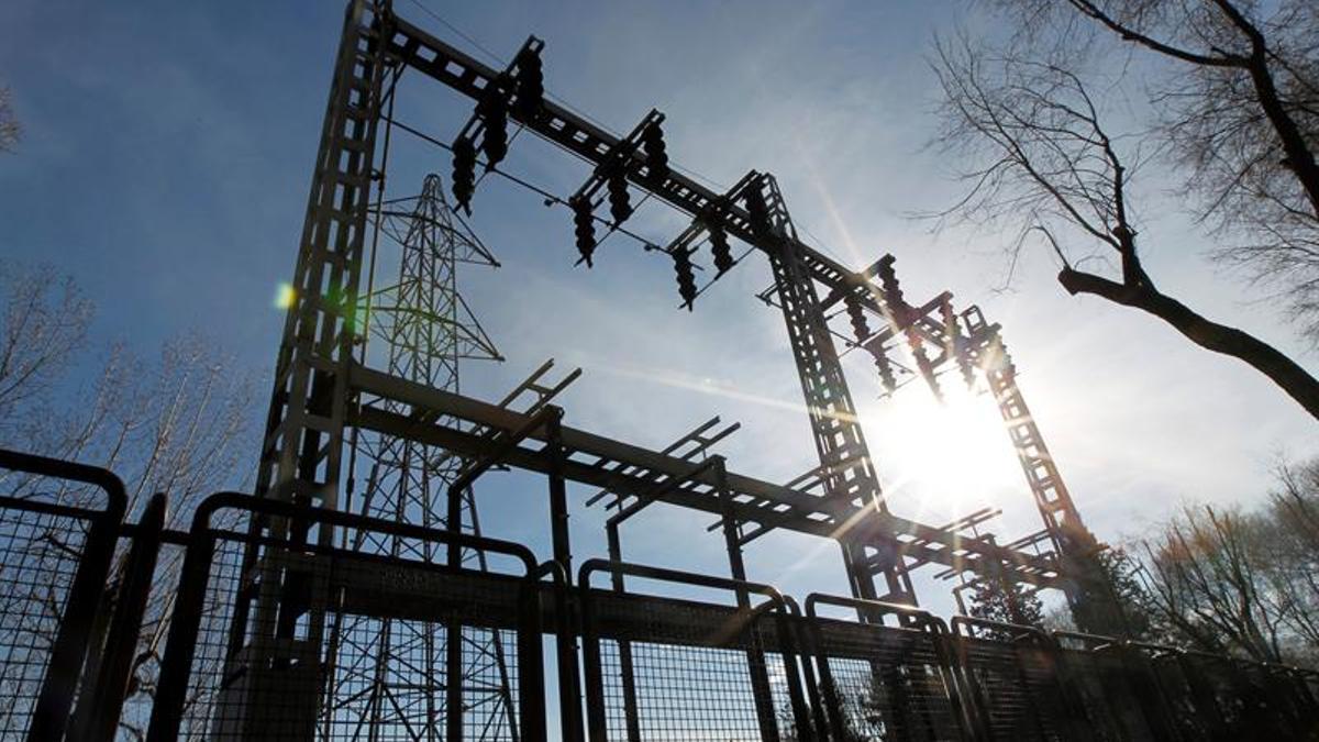 Una instalación eléctrica.