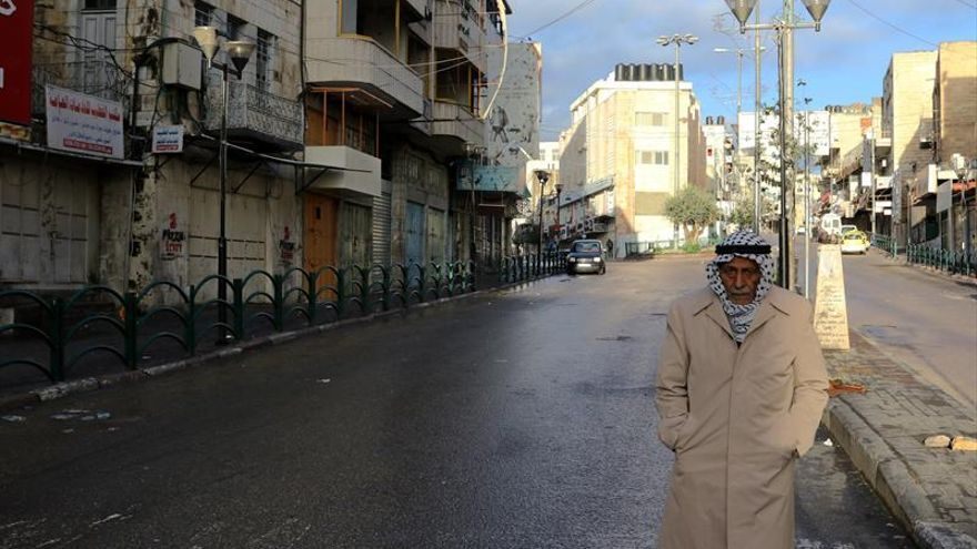 Huelga general en Palestina tras reconocer Trump la capitalidad de Jerusalén