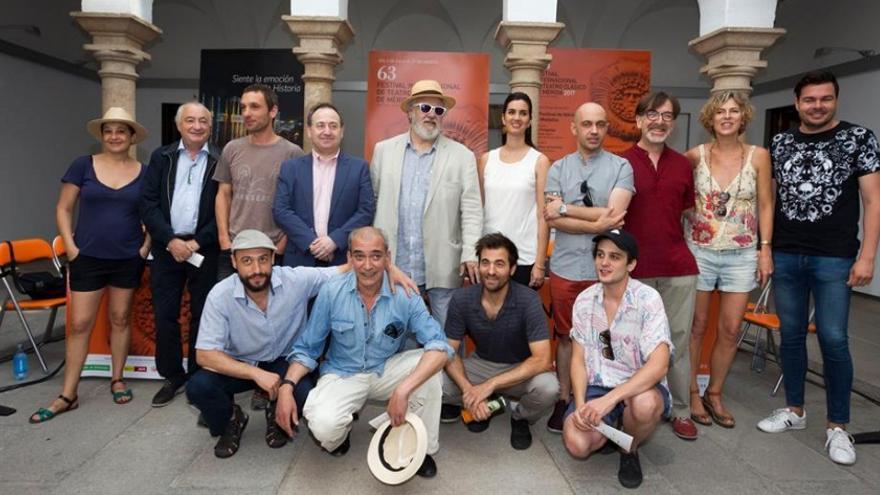 Presentación de Calígula / Festival de Teatro Clásico de Mérida