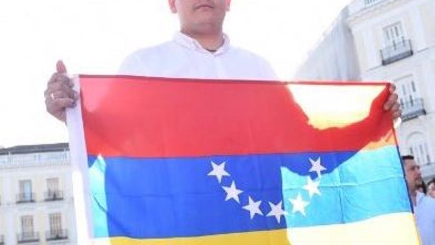 Arlen Barrera, coordinador en España de Voluntad Popular.