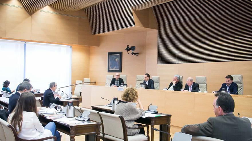 El periodista valenciano, Sergi Castillo, durante su comparecencia en la comisión de investigación en el Congreso