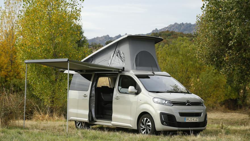 Citroën SpaceTourer Camper.