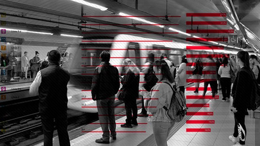 Imagen apertura frecuencias Metro.