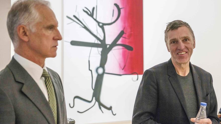El Museo Guggenheim Bilbao inaugura este viernes la exposición 'Albert Oehlen: Detrás de la imagen'