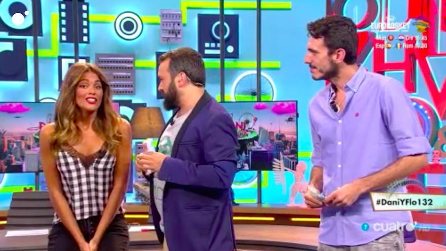 Lara Álvarez debutó en Dani & Flo desvelando quién rompe sus relaciones
