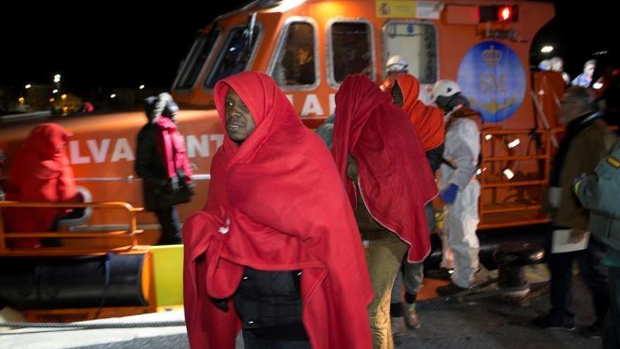 Frontex registra un descenso de llegadas de inmigrantes a España en marzo