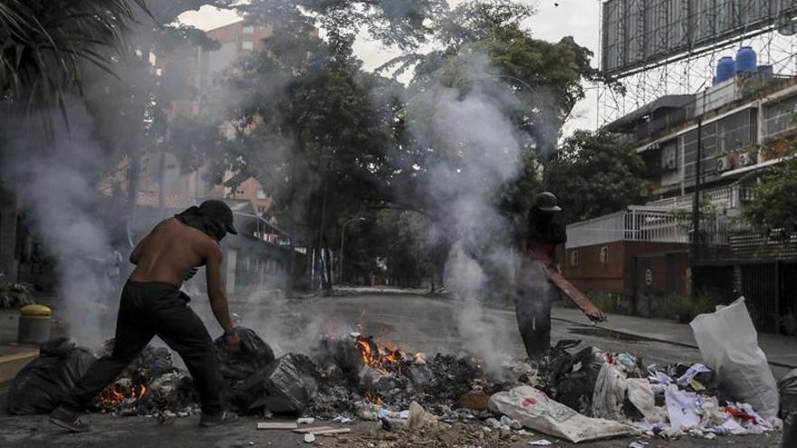 Muere un joven durante una protesta en la huelga convocada en Venezuela