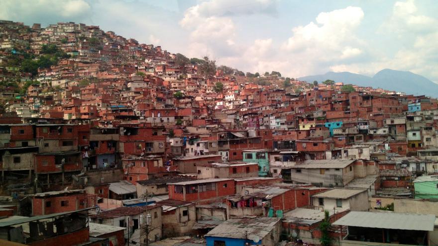 Una de las zonas pobres de Caracas, construida sobre un 'cerro' (Foto: Olga Rodríguez)