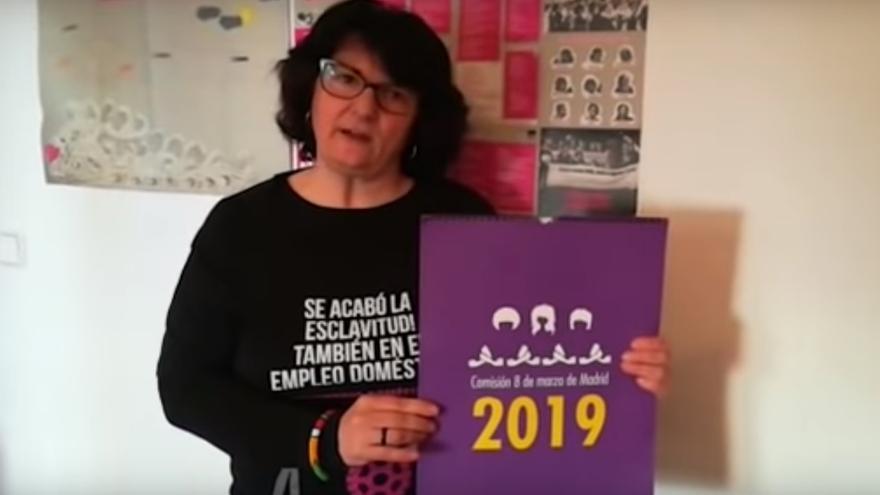 Pepa TorresPérez, una de las monjas que reivindica la huelga feminista del 8M