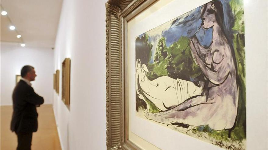 Los Grabados De Picasso Sobre El Entierro Del Conde De Orgaz Llegan