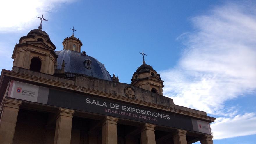 La sala de exposiciones de Conde de Rodezno, una denominación polémica.
