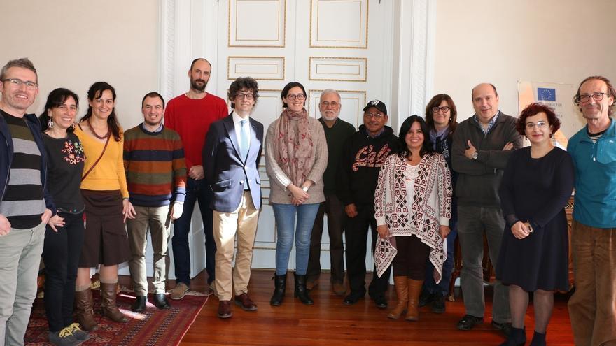 Ayuntamiento de San Sebastián recibe a representantes de la organización de derechos humanos Peace Brigade International