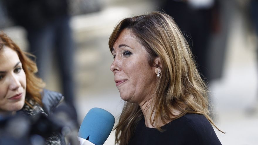 """Sánchez-Camacho valora que Rajoy, """"como cualquier español"""", esté """"dispuesto a colaborar con la Justicia"""""""