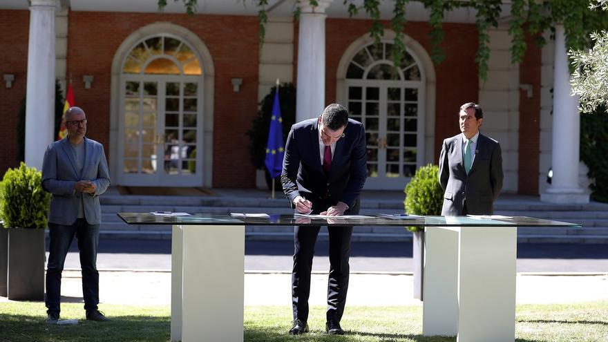 Sánchez asegura que el pacto por el empleo generará confianza en la economía