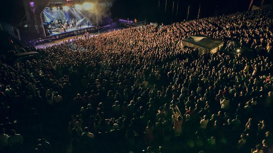 Concierto de Calle 13. Foto: Jorge Fuembuena
