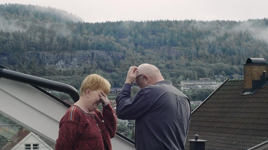 Un fotograma de Haunted, del director Christian Einshøj.