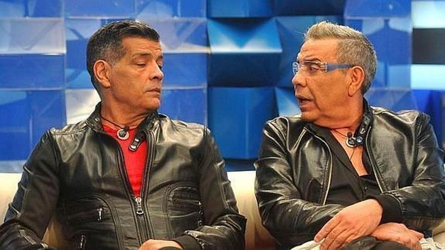 Los Chunguitos durante su participación en el programa 'Gran Hermano VIP'