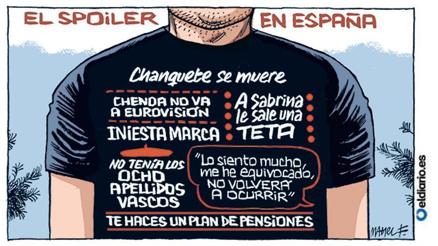 El spoiler en España