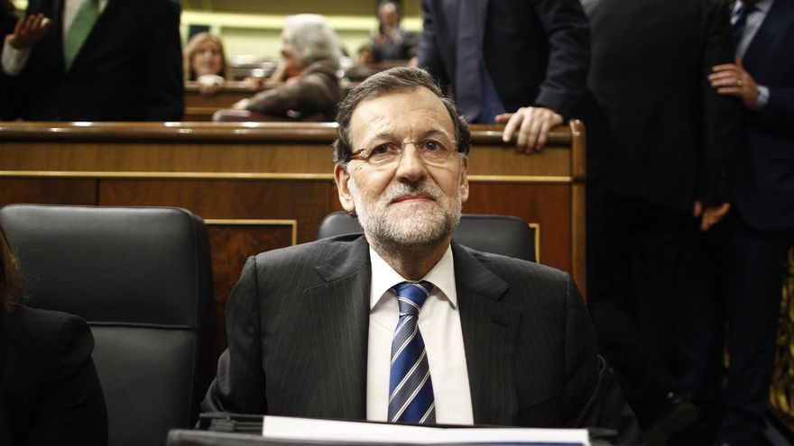 Rajoy, satisfecho con su papel en la primera jornada del Debate sobre el estado de la Nación