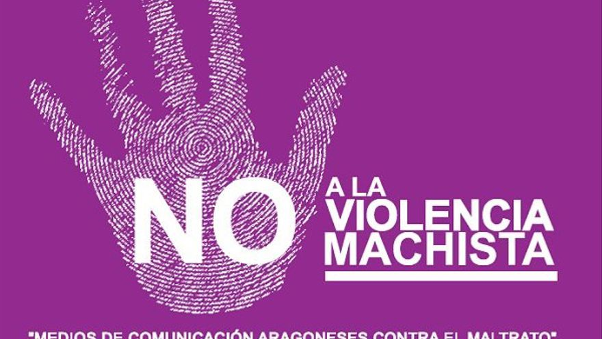 Medios de comunicación aragoneses contra el maltrato.