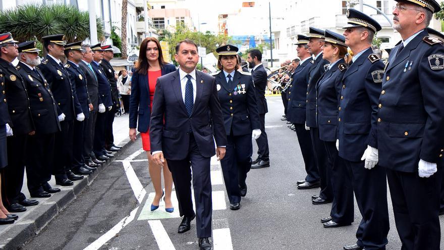 El alcalde José Manuel Bermúdez, en el acto de este viernes