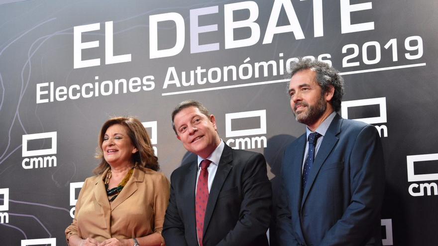 Emiliano García-Page en del debate CMMedia
