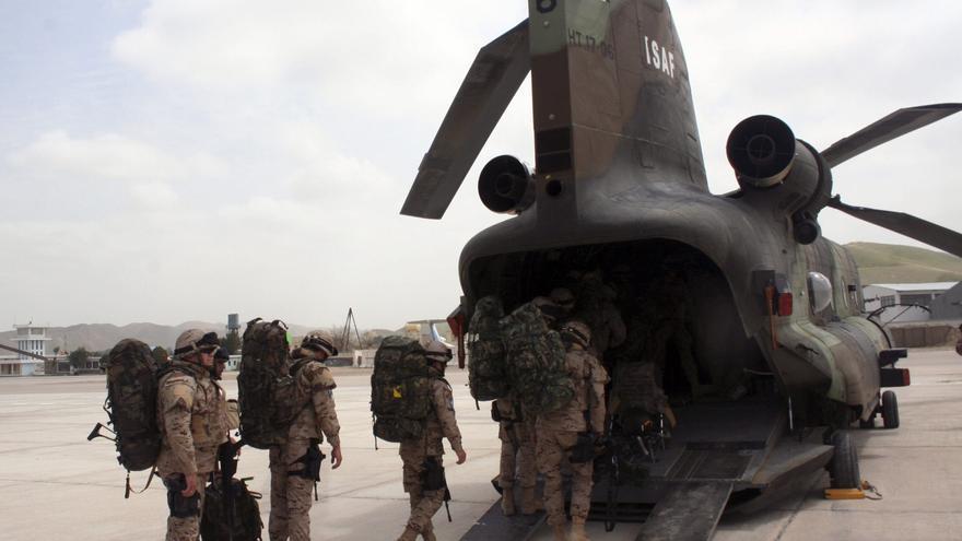 Un paracaidista español herido en Afganistán en un ataque a las tropas en Ludina