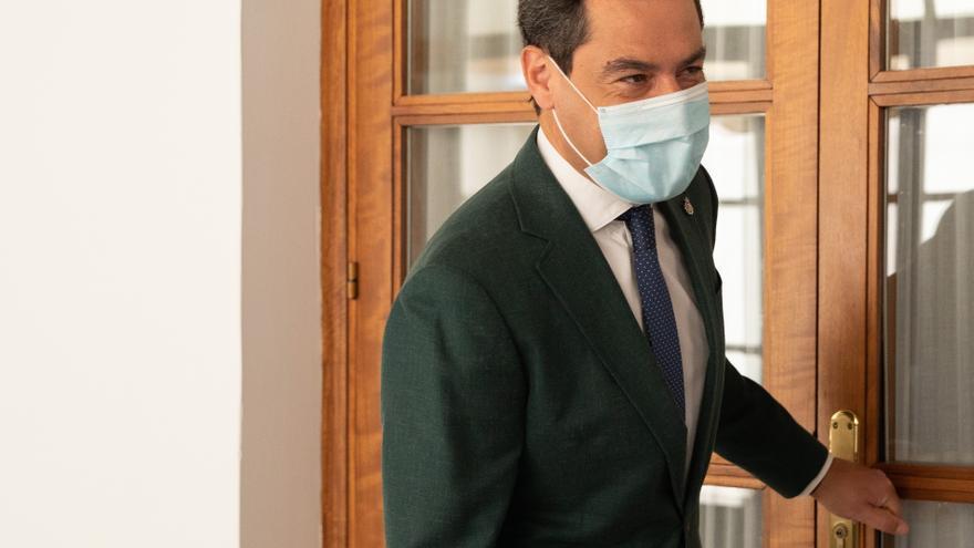 El presidente del PP-A y de la Junta de Andalucía, Juan Manuel Moreno