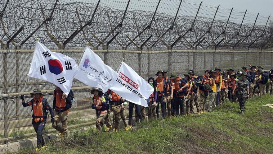 Mujeres activistas cruzarán la frontera coreana por una ruta alternativa