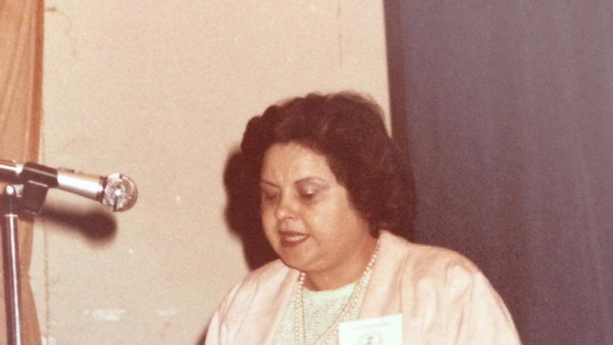 Cristina Cabrera fue pediatra de  Los Llanos de Aridane durante unos cuarenta años.