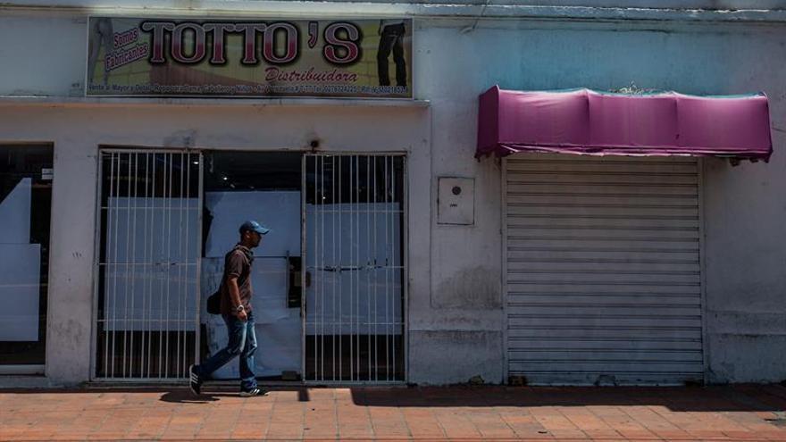 Un 60 % de los comercios han cerrado en Venezuela en los últimos cinco años