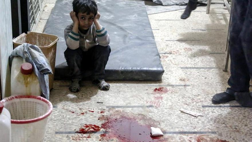 Casi un centenar de muertos en choques entre grupos islámicos cerca de Damasco