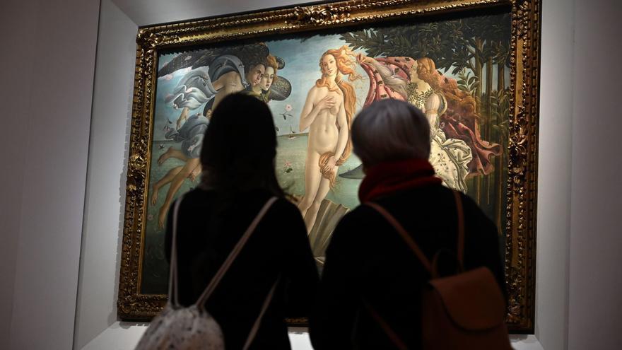 Los Uffizi recibieron un 72 % menos de visitantes en 2020 debido a la covid
