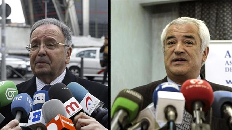 Miguel Bernad y Luis Pineda