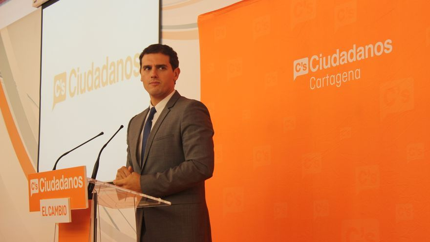 Albert Rivera en Cartagena / PSS