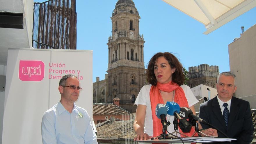 """Lozano (UPyD) dice que Podemos y Ciudadanos tienen """"un proyecto de poder"""" más que para la ciudadanía"""