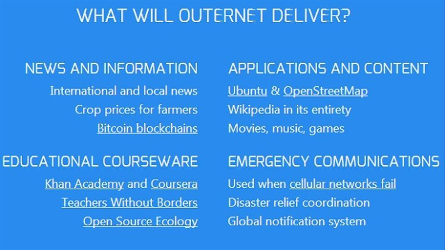 Outernet info