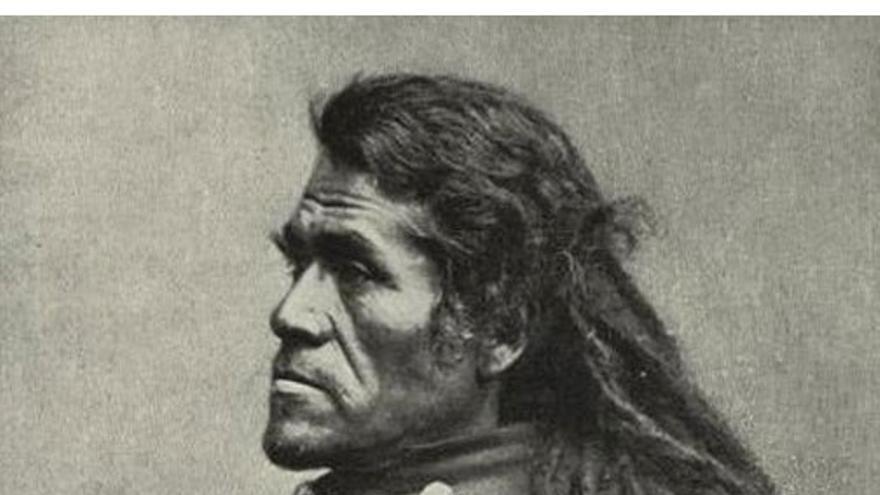 Retrato de Irataba, líder tribal de los mohaves. (DP)