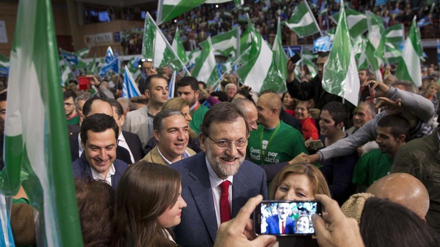 Rajoy vuelve este viernes a Sevilla para arropar a Juanma Moreno en el cierre de campaña