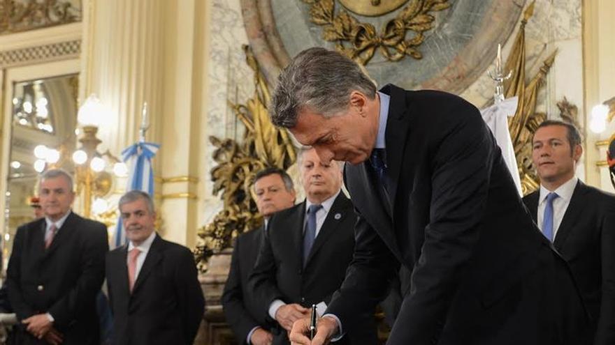 Mauricio Macri se reúne con el presidente de BBVA en Buenos Aires
