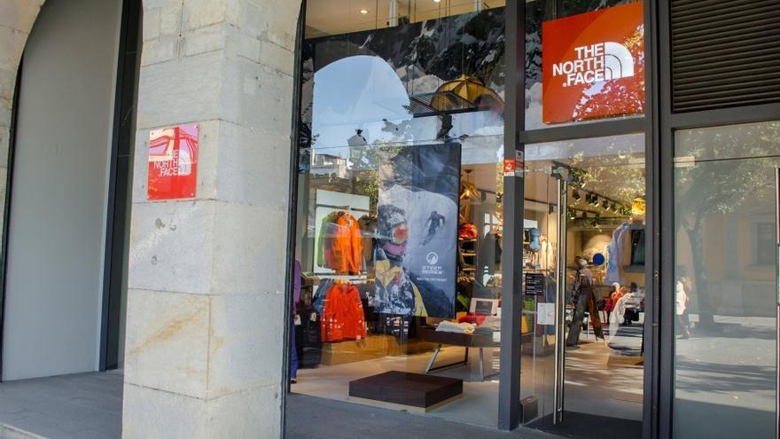 tienda north face plaza norte 2