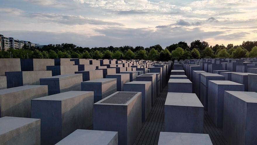 Memorial a los judíos asesinados durante el Holocausto en Berlín (Alemania)