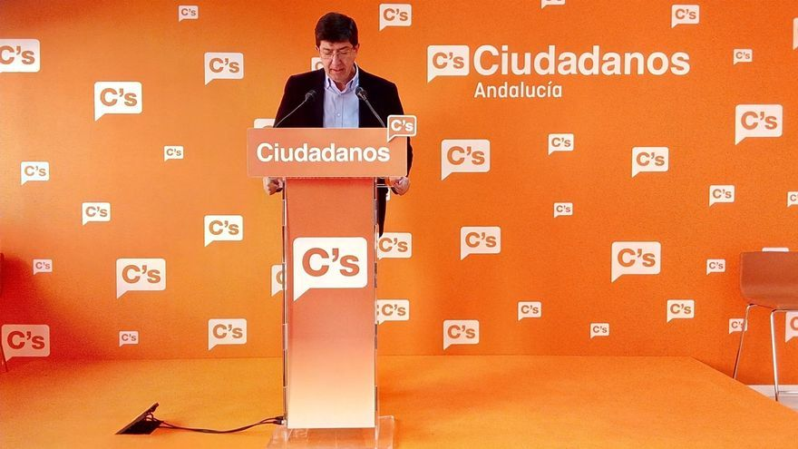 """Marín dice que el Egopa """"consolida el crecimiento"""" de C's y aplaude que """"el 69,6% de andaluces se sitúen en el centro"""""""